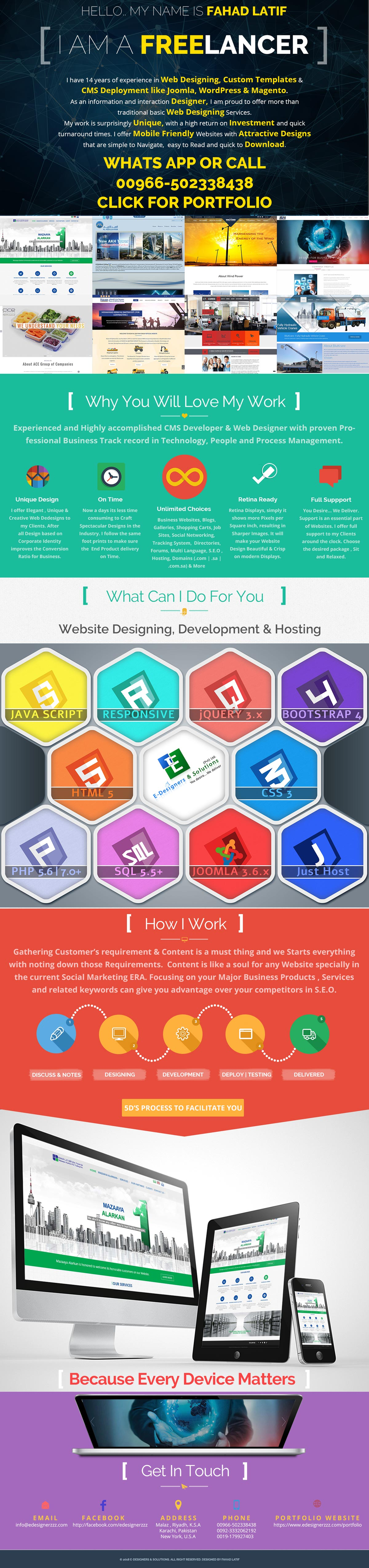 Creative Website Packages Starting From 1500 SR - Riyadh